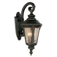 Shop Portfolio 24-in Rust Outdoor Wall Light at Lowes.com