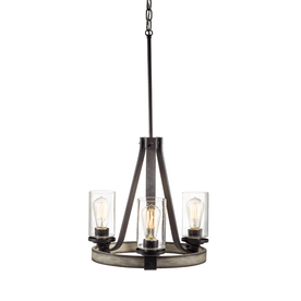 Shop Kichler Lighting Barrington 3-Light Anvil Iron and