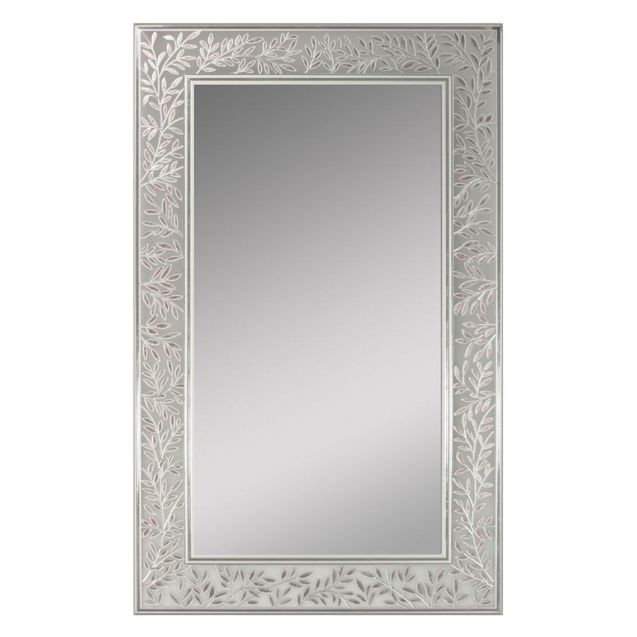 Shop Style Selections 20in x 32in Decorative Edge Wall Mirror at Lowescom