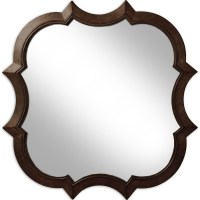 Shop 30-in x 30-in Oil-Rubbed Bronze Round Framed Wall ...
