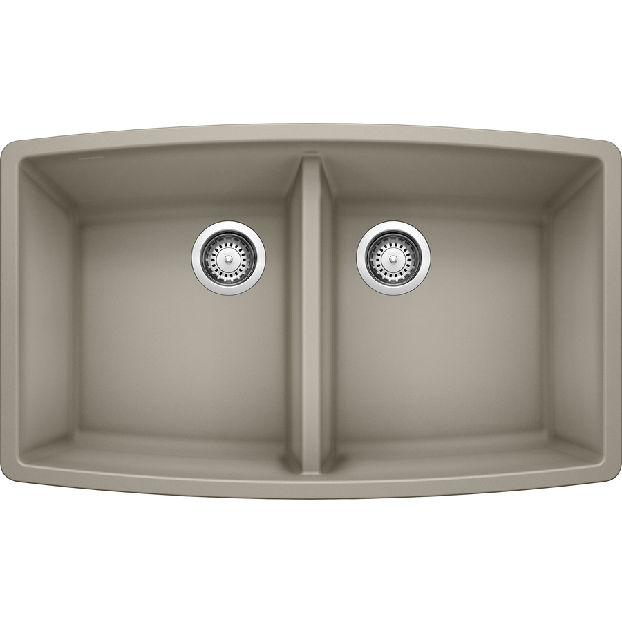 Shop Blanco Performa Truffle Double Basin Undermount