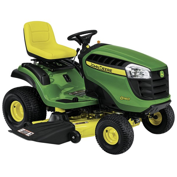 John Deere D140 -twin Hydrostatic 48-in Riding Lawn Mower With Briggs & Stratton Engine