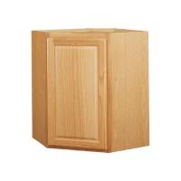 Shop Kitchen Classics 30-in x 24-in x 12-in Oak Corner ...