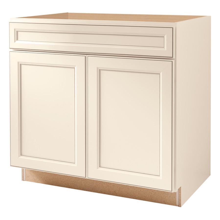 Shop Kitchen Classics 36in Caspian White Sink Base