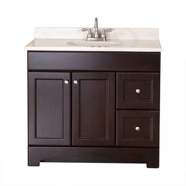 36 Bathroom Vanity with Top