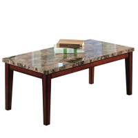 Shop Home Sonata Cherry Asian Hardwood Rectangular Coffee ...