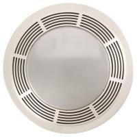 Shop NuTone 3.5-Sone 100-CFM Polymeric White Bathroom Fan ...