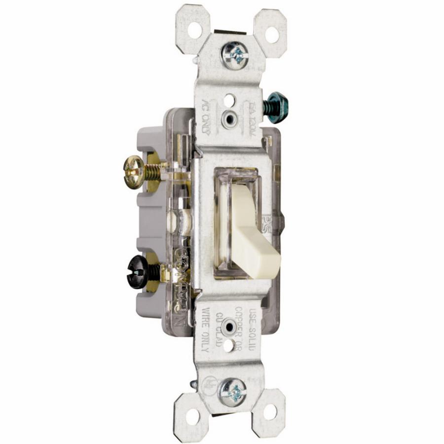 medium resolution of  legrand 15amp light almond double pole light switch at lowescom auto light switch wire diagram