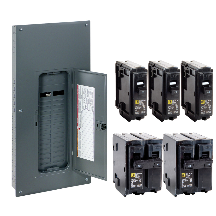 medium resolution of shop square d 40circuit 30space 200amp main lug load center value wiring a 100 amp