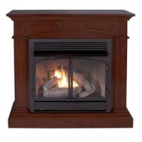Shop Cedar Ridge Hearth 44.53-in Dual-Burner Vent-Free ...