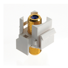 cat 3 wiring diagram rj11 4 ohm dvc audio video wall jacks at lowes com display product reviews for plastic f connector keystone insert