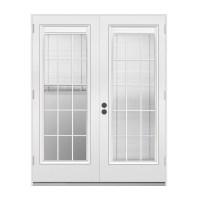 Shop ReliaBilt 71.5-in Blinds Between the Glass Steel ...