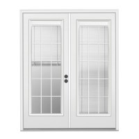 Shop ReliaBilt 71.5-in Blinds Between the Glass Primer ...