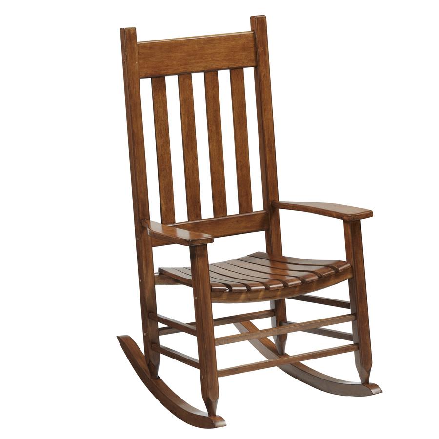 Shop Garden Treasures One Porch Brown Wood Slat Seat
