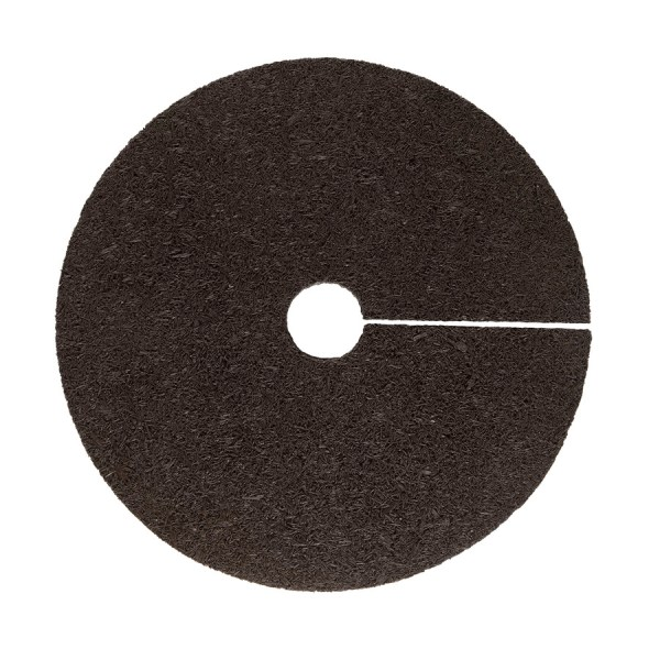 Rubberific 24-in Brown Recycled Rubber Tree Ring