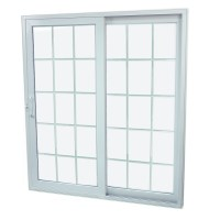 Shop SecuraSeal 71-in Low-E Argon Grilles Between Glass ...
