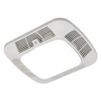 Shop Harbor Breeze 1.2-Sone 110-CFM White Bathroom Fan ...