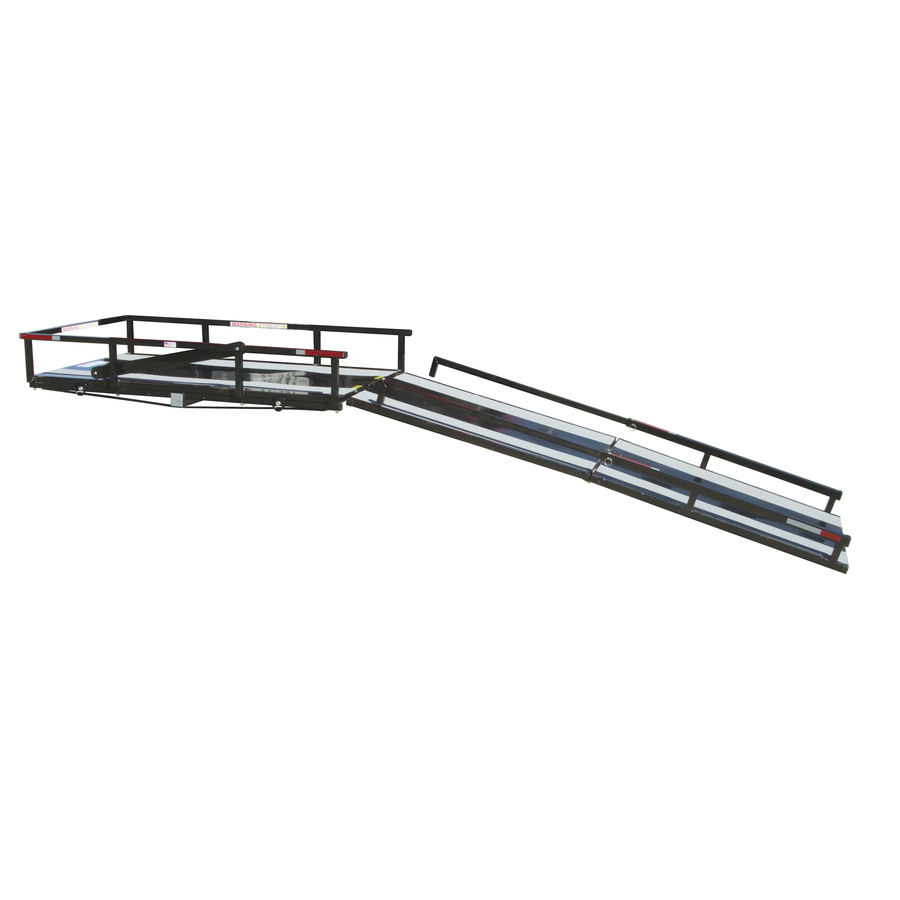 Shop Hitch Mount Carrier with 6-ft Folding Ramp at Lowes.com