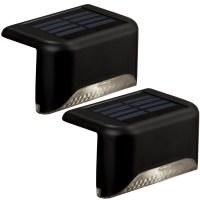Shop Portfolio 2-Light Black Led Railing Deck Light Kit at ...