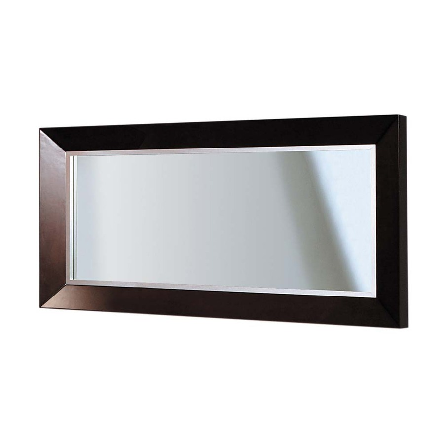 Shop DECOLAV Cityview Suite 30in H x 60in W Red Mahogany Rectangular Bathroom Mirror at Lowescom