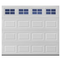 Shop Pella Traditional Series 9-ft x 7-ft White Garage ...