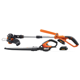 Shop WORX 2-Piece Cordless Power Equipment Combo Kit at