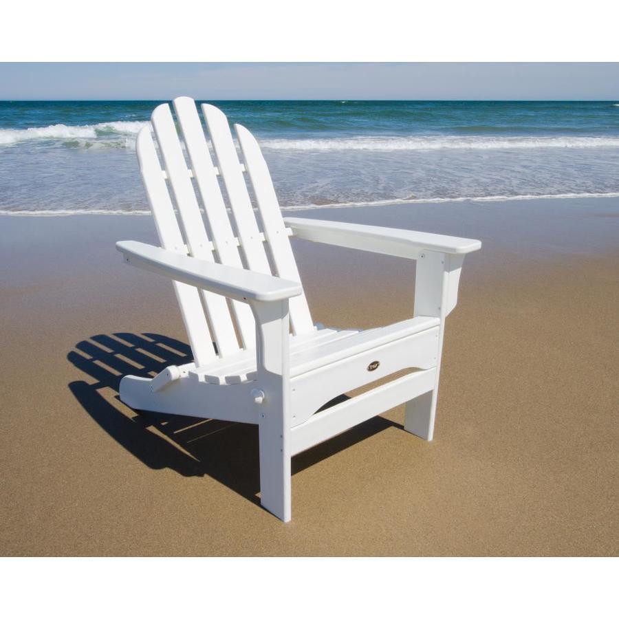 Shop Trex Outdoor Furniture Cape Cod Classic White Plastic