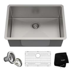 Gray Kitchen Sink Aid Range Sinks At Lowes Com Display Product Reviews For Standart Pro 26 In X 18 Stainless Steel Single