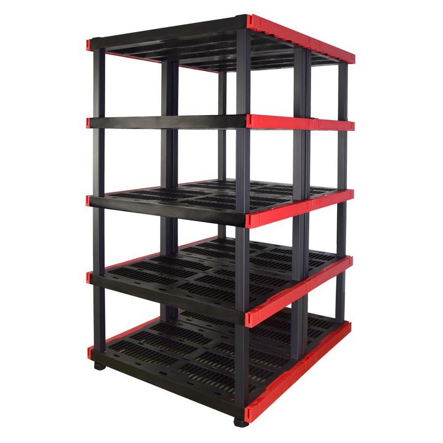 storage shelves lowes