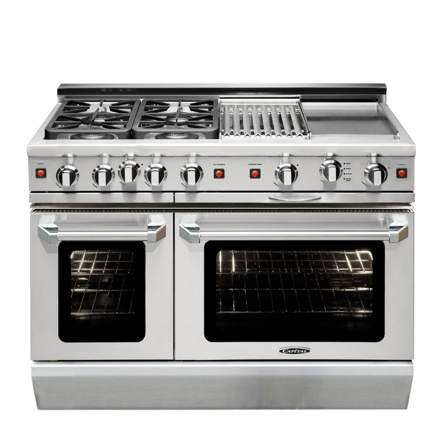 Gas Oven Slide In Gas Range With Double Oven