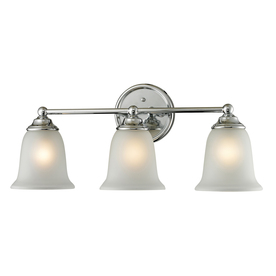 Westmore Lighting 3-Light Landisville Chrome Bathroom Vanity Light
