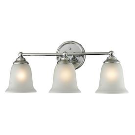 Westmore Lighting 3-Light Landisville Chrome Bathroom Vanity Light