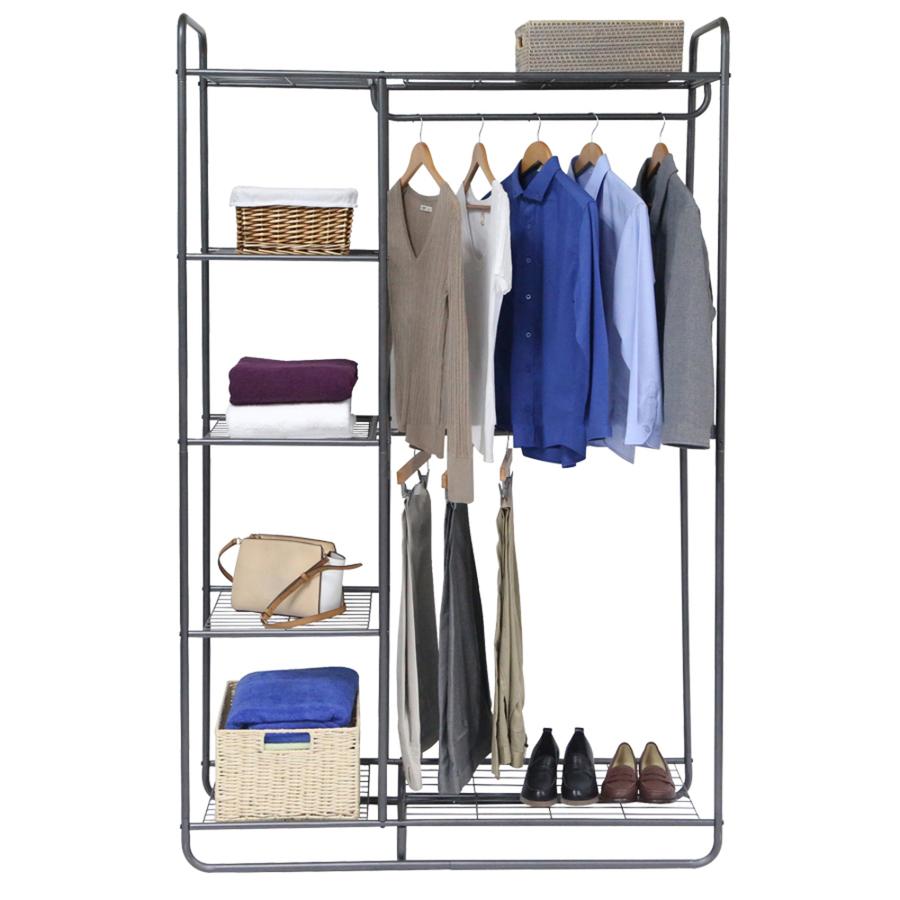clothing racks portable closets at