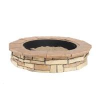 Shop Fire Pit Patio Block Project Kit at Lowes.com
