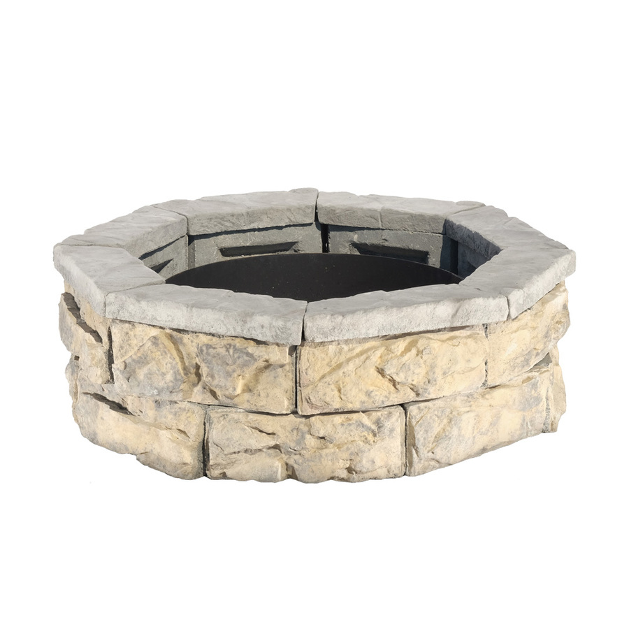 Shop Fire Pit Patio Block Project Kit at Lowescom