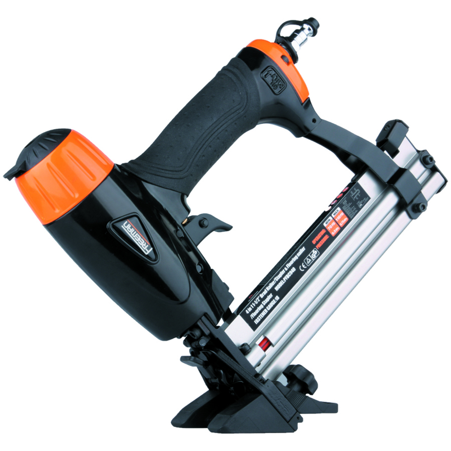 Shop FREEMAN 15in x 18Gauge Roundhead Flooring Pneumatic Nailer at Lowescom