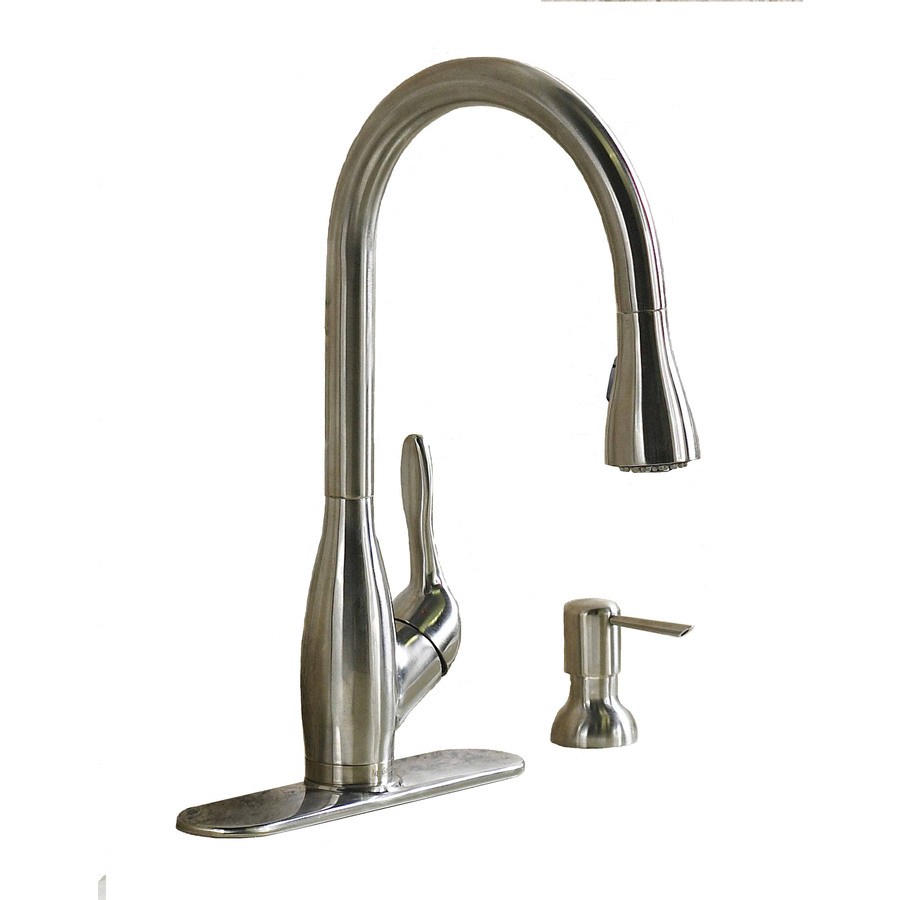 Shop AquaSource Stainless Steel Pull