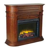 Shop Pleasant Hearth 46-in W 4,600-BTU Chestnut Wood Fan ...