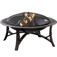 Wood Burning Fire Pits from Lowes in Bronze & Steel Fire ...