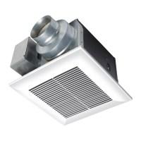Shop Panasonic 0.3 Sones 110-CFM White Bathroom Fan ENERGY ...
