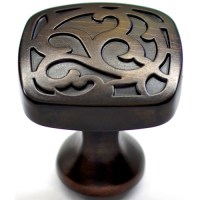 Allen Roth Aged Bronze Cabinet Pull Knob from Lowes ...