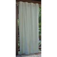 Shop allen + roth 108-in L Aqua Patio Curtains Outdoor ...