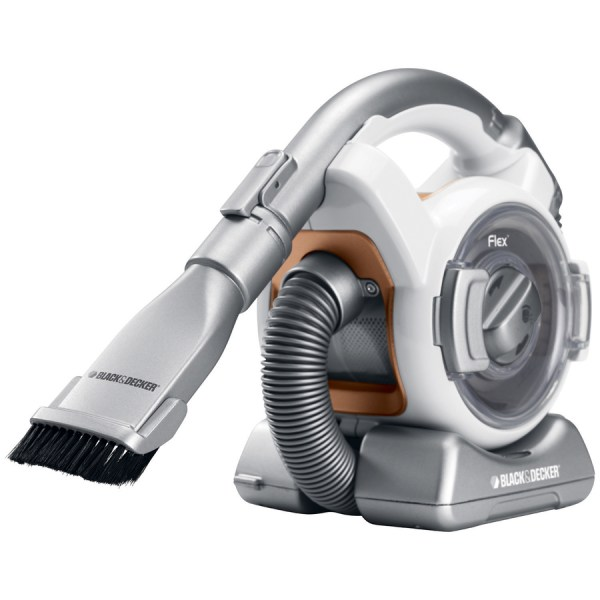 Black & Decker Flex Mini Canister Cordless Bagless Handheld Vacuum