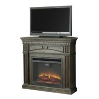 Shop Style Selections 47.5-in W 5,120-BTU Dark Driftwood ...