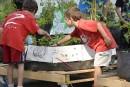 Apprendre à jardiner au camp de jour