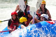 The American Olympic team canoe slalom trains to ... (Photo Bernard Brault, The Press) - image 5.0
