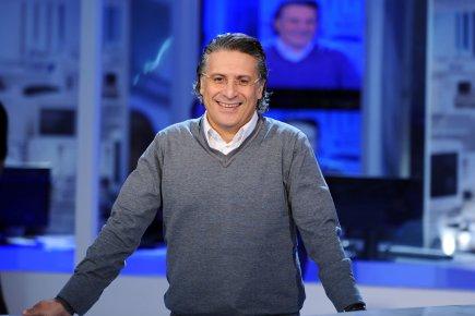 Le directeur général de la télévision privée tunisienne... (Photo: Fethi Belaid, AFP)