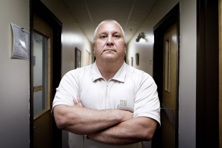 Le grand chef de Kahnawake, Michael Delisle.... (Photo: Marco Campanozzi, La Presse)
