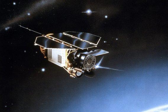 Un satellite allemand hors service a fait son entrée dans l'atmosphère