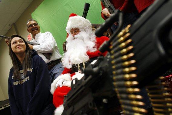 Un fusil pour Noël, un «must» au pays de l'Oncle Sam